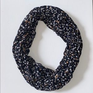 Loft Dotted Infinity Scarf!